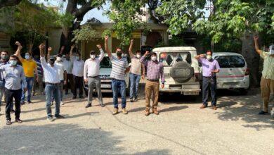 Photo of उत्तर प्रदेश राज्य विद्युत परिषद अभियंता संघ द्वारा किया गया एक दिवसीय कार्य बहिष्कार