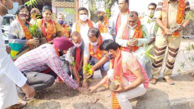 Photo of समाजसेवी संस्थाओं द्वारा वृक्षारोपण कार्यक्रम आयोजित मुख्य अतिथि रहे नगर मजिस्ट्रेट अभिषेक सिंह