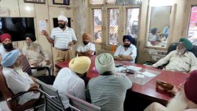 Photo of भाकियू की महापंचायत में किसानों की लंगर व ठहरने की व्यवस्था करने को लेकर सिख समाज ने बैठक का किया आयोजन