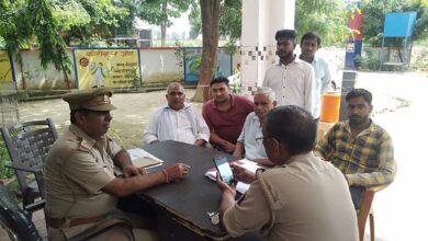 Photo of शाहपुर क्षेत्र में लव जेहाद की सूचना पर पहुँचे हिन्दू जागरण मंच के कार्यकर्ता , पुलिस ने किया मुकदमा दर्ज